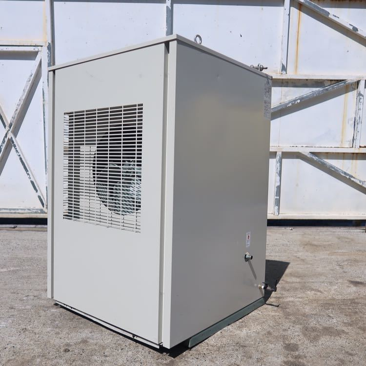 ☆ 中古 日立 小型空気圧縮機 ベビコン 7.5KW エアコンプレッサー PB-7.5MN6 3相 200V 60Hz ☆ 953時間_画像4