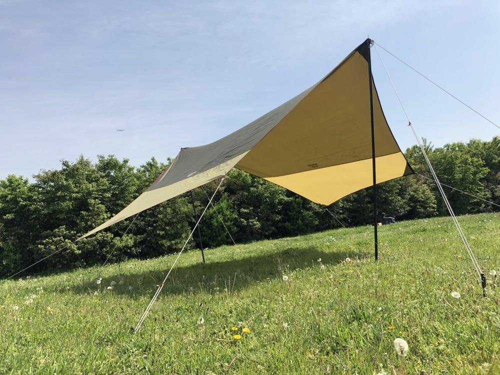 ogawa オガワ system tarp hexa DX 中古品