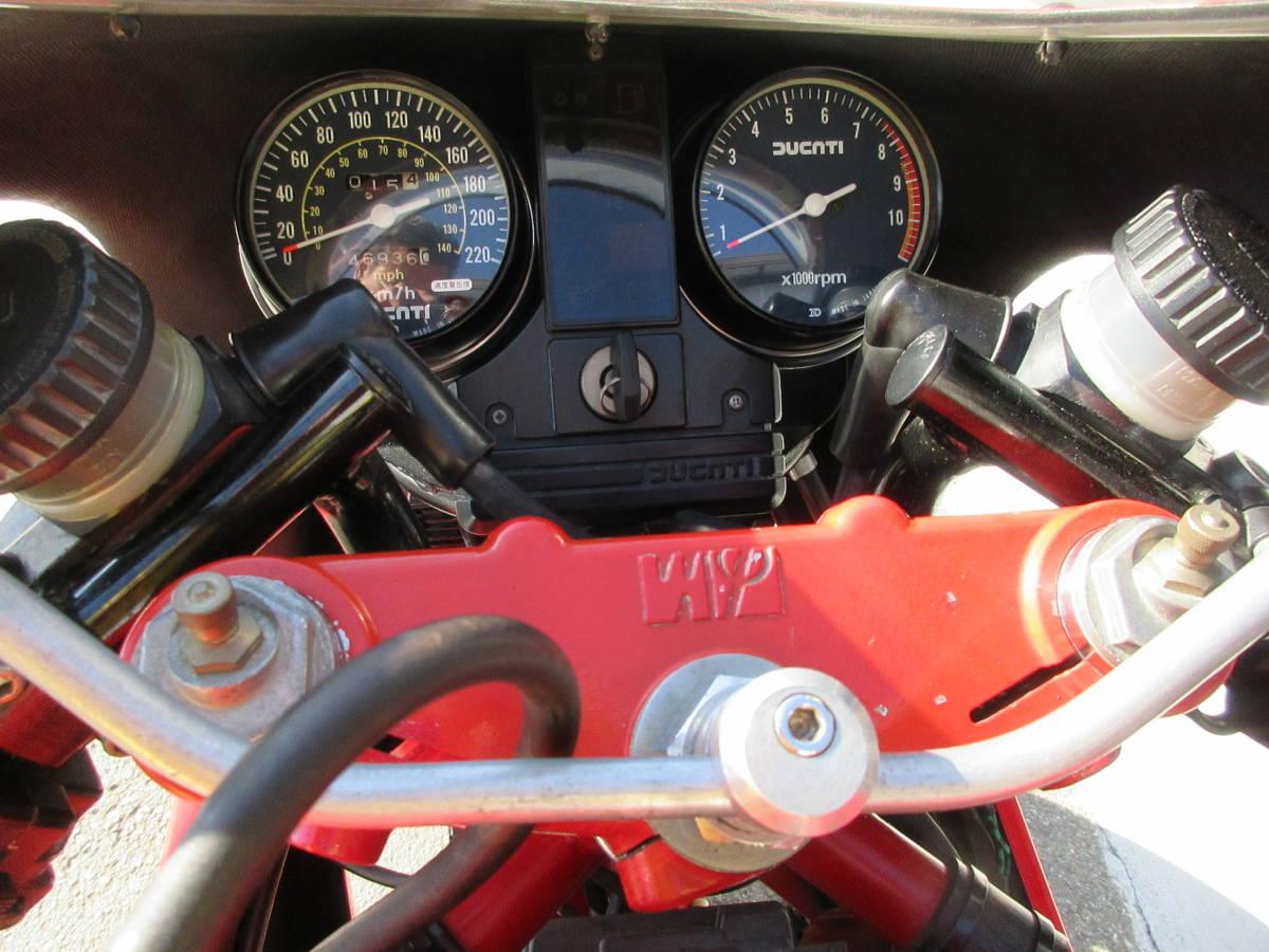 ドゥカティ 750F1 I型 希少 村山モータース物 第1号車_画像10