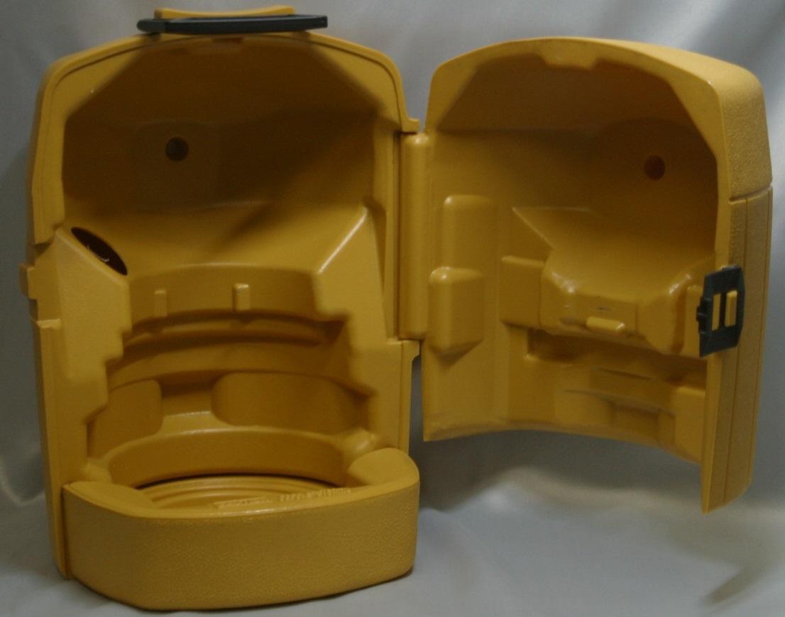 コールマン (後期型 丸ハンドル)220・228系 クラムシェル ランタンケース 83/1 /希少・廃盤【黄色】coleman ヴィンテージ_画像7