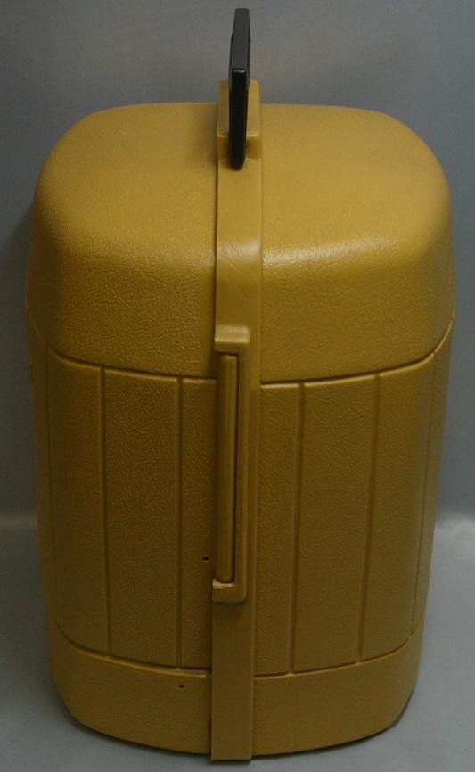 コールマン (後期型 丸ハンドル)220・228系 クラムシェル ランタンケース 83/1 /希少・廃盤【黄色】coleman ヴィンテージ_画像4