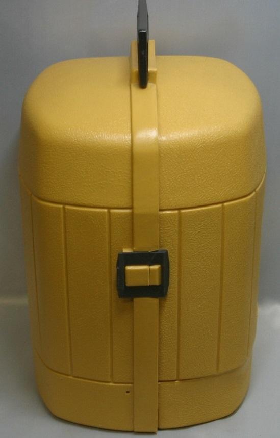 コールマン (後期型 丸ハンドル)220・228系 クラムシェル ランタンケース 83/1 /希少・廃盤【黄色】coleman ヴィンテージ_画像3