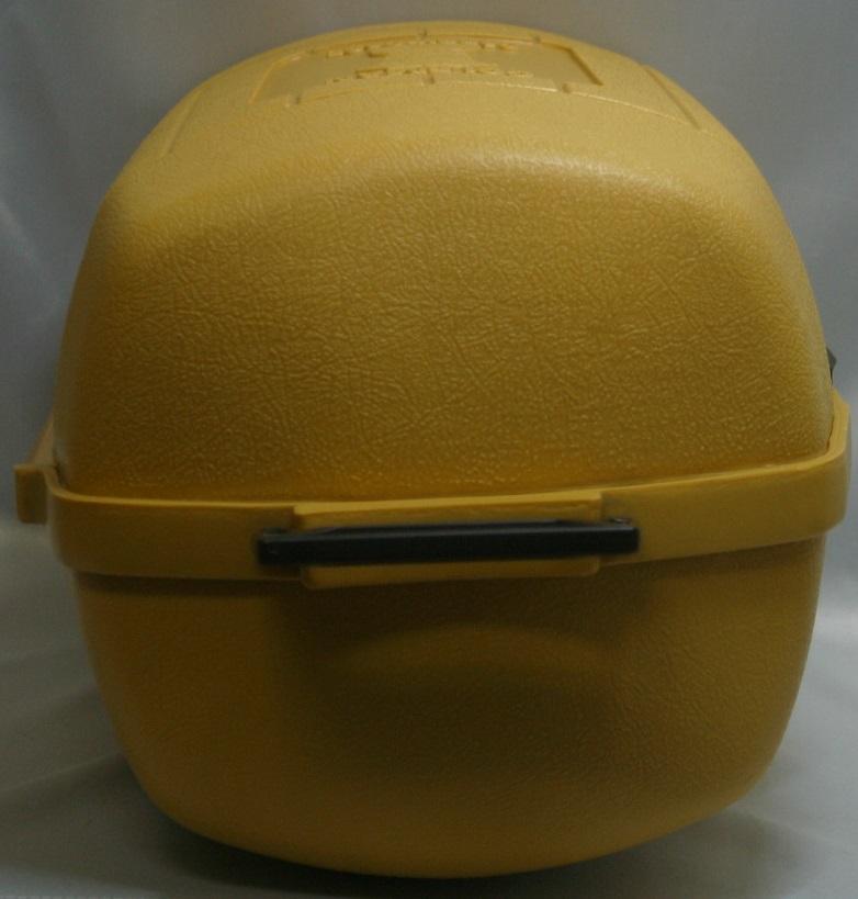コールマン (後期型 丸ハンドル)220・228系 クラムシェル ランタンケース 83/1 /希少・廃盤【黄色】coleman ヴィンテージ_画像5