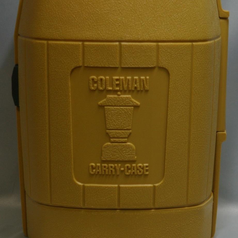 コールマン (後期型 丸ハンドル)220・228系 クラムシェル ランタンケース 83/1 /希少・廃盤【黄色】coleman ヴィンテージ_画像6