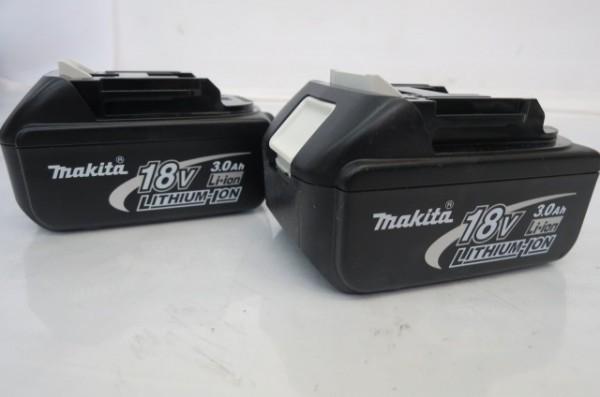 HR182H マキタ makita インパクトレンチ TW251D 充電式 リチウムイオンバッテリー2個付 バッテリーセット 通電確認済_画像9