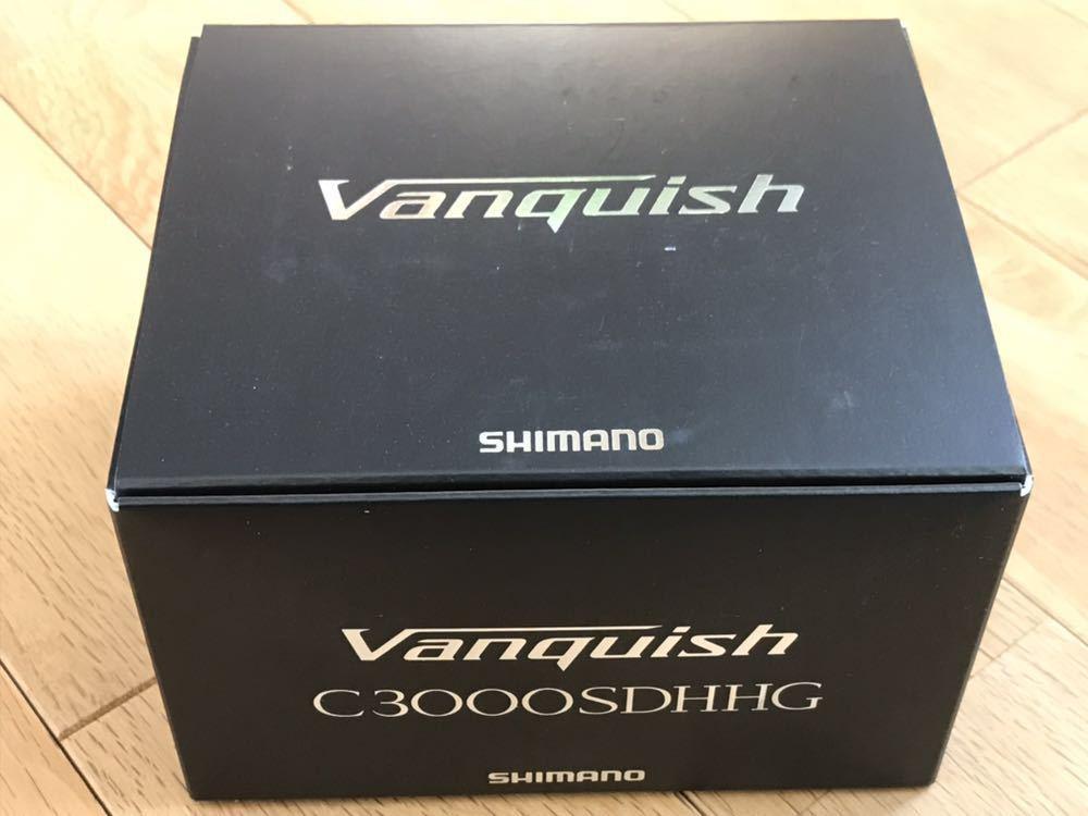 新品 シマノ 19 ヴァンキッシュ C3000SDHHG Shimano Vanquish バンキッシュ スピニングリール ダブルハンドル エギング