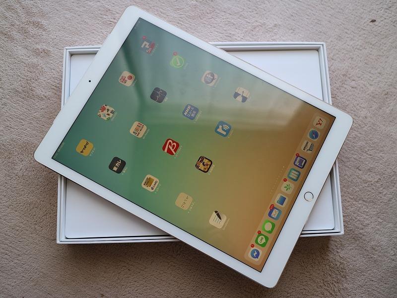 iPad PRO 12.9インチ(第1世代) 128GB Apple 国内版SIM フリー ゴールド