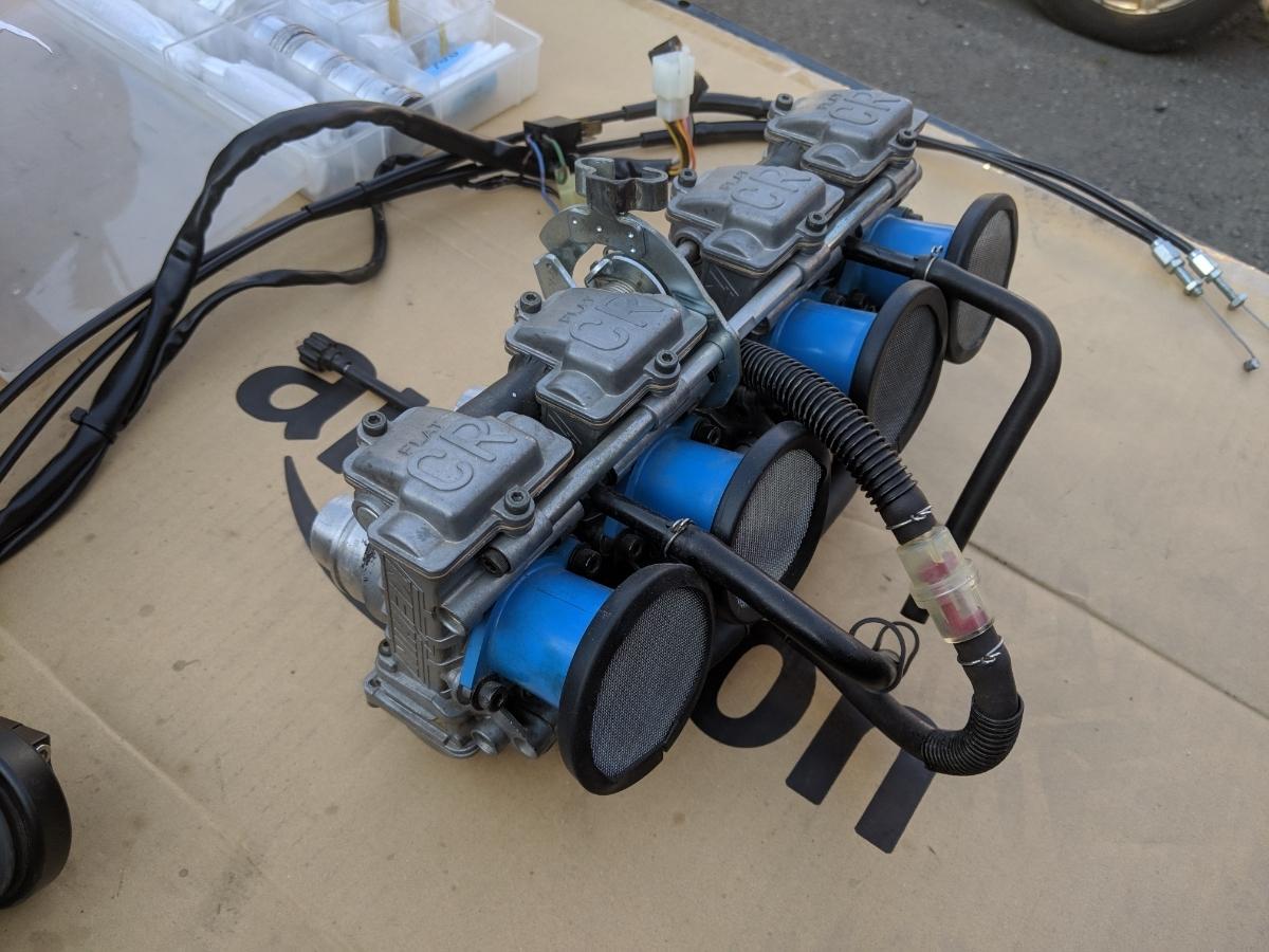 ゼファー400 FCR33 フルセット ハイスロ セッティングセット一式 1スタ_画像3