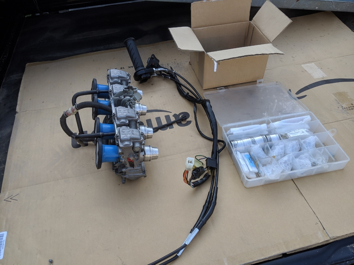 ゼファー400 FCR33 フルセット ハイスロ セッティングセット一式 1スタ