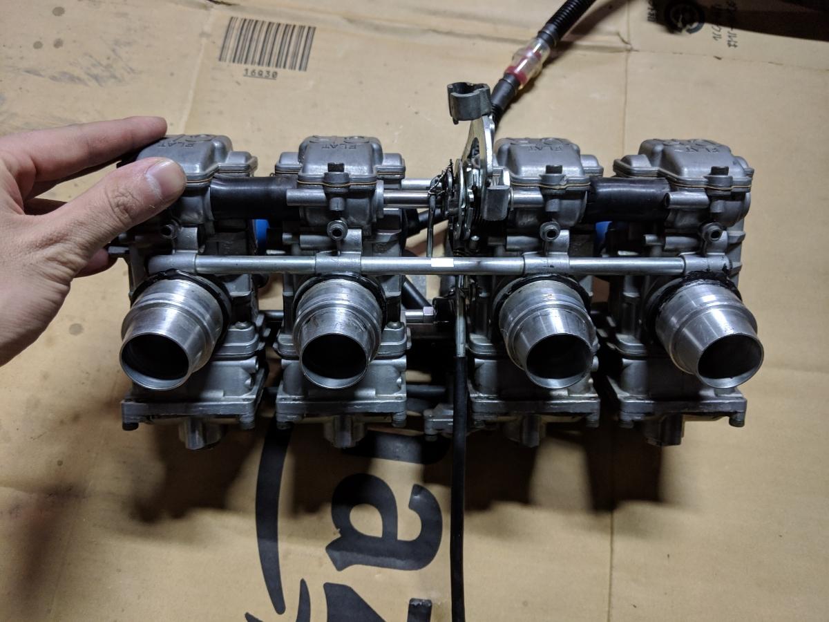 ゼファー400 FCR33 フルセット ハイスロ セッティングセット一式 1スタ_画像10