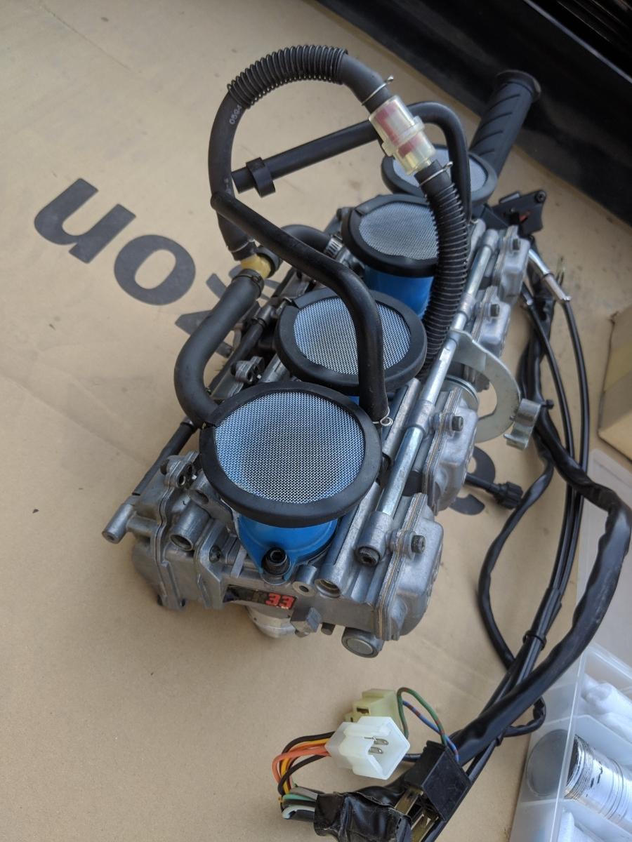 ゼファー400 FCR33 フルセット ハイスロ セッティングセット一式 1スタ_画像4