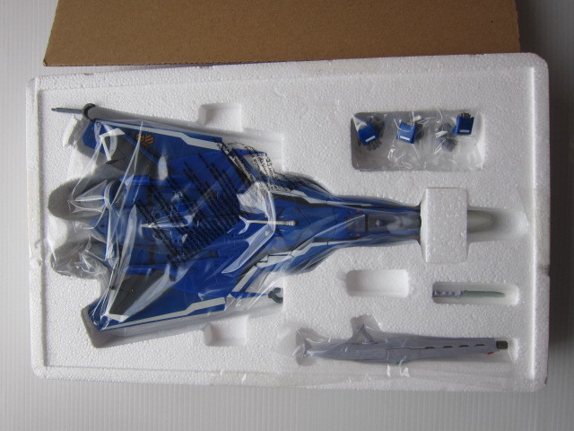 DX 超合金 GE-44 VF-25G メサイアバルキリー ミハエルブラン機 新品 本体説明書 未開封未使用_画像2