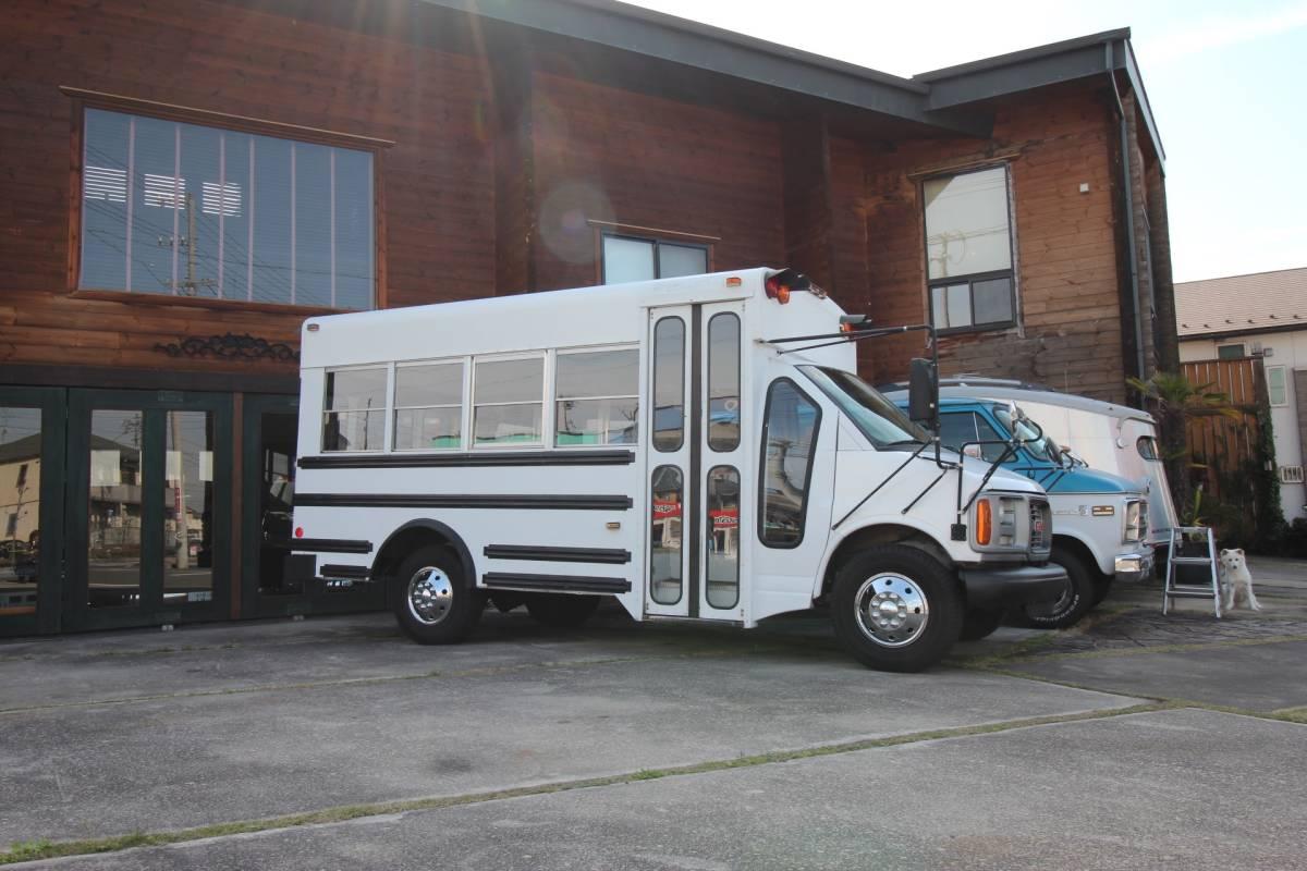 99GMC Short school bus! low running car! real running 50000