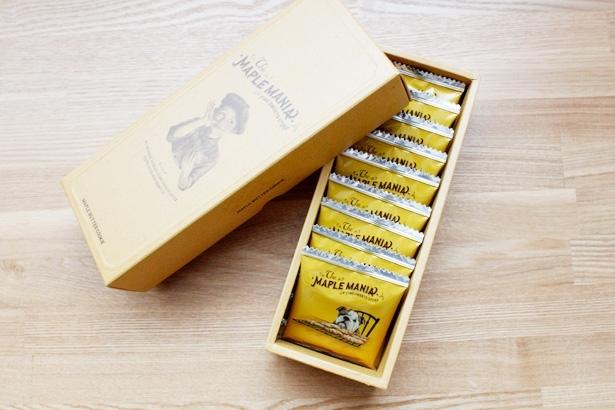 メープルマニア メープルバタークッキー  9枚 箱無し 送料無料 東京駅 限定