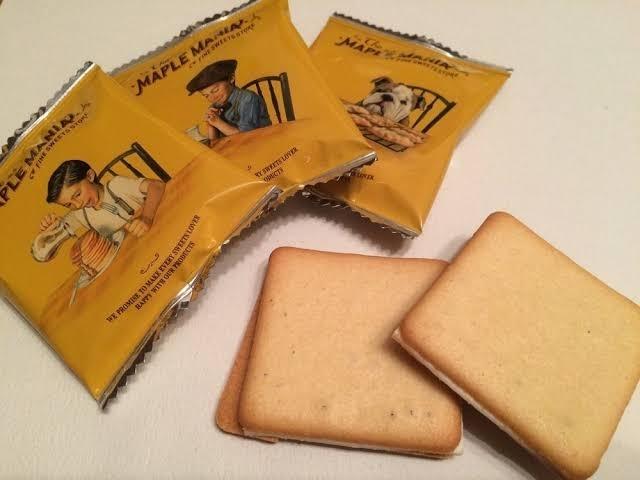 メープルマニア メープルバタークッキー  9枚 箱無し 送料無料 東京駅 限定_画像2