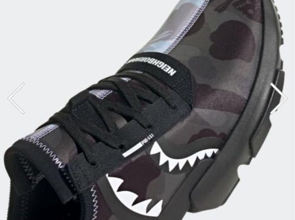 1円 売切 新品 即完売 adidas NBHD BAPE POD 3.1 NMD STLT アディダス ネイバーフッド ベイプ コラボ shark A BATHING APE neighborhood _画像2