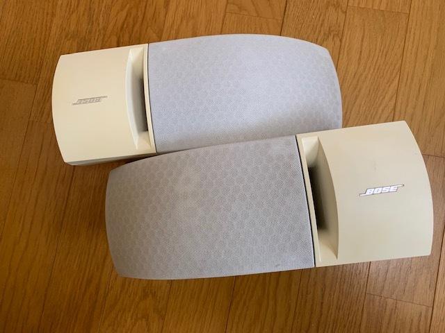 BOSE ボーズ 161 speaker system スピーカーシステム ホワイト スピーカー 中古品_画像1