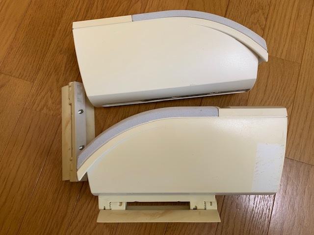 BOSE ボーズ 161 speaker system スピーカーシステム ホワイト スピーカー 中古品_画像3
