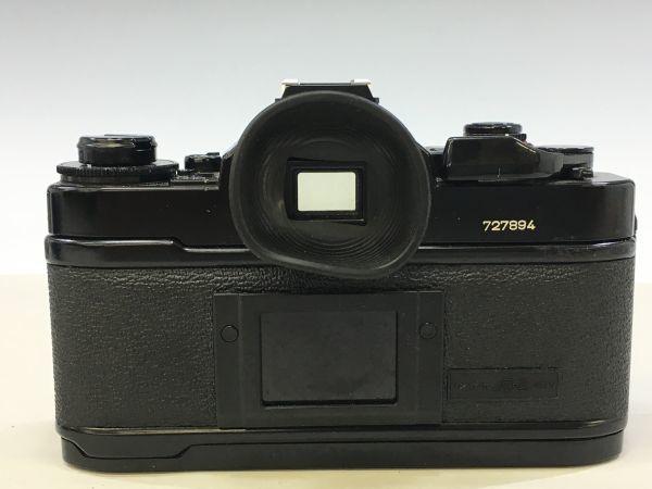 M402-52/HY3000 Canon キャノン A-1 50㎜ 1:1.4 《データバック・フラッシュ・レンズフード・フィルタ付》一眼レフ 中古カメラ_画像5