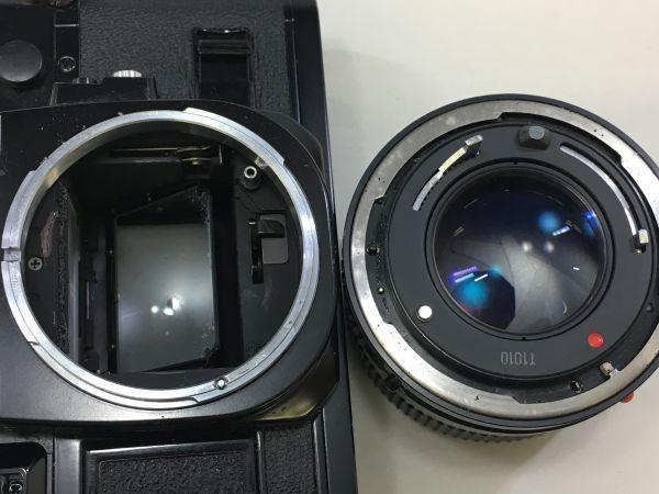 M402-52/HY3000 Canon キャノン A-1 50㎜ 1:1.4 《データバック・フラッシュ・レンズフード・フィルタ付》一眼レフ 中古カメラ_画像6