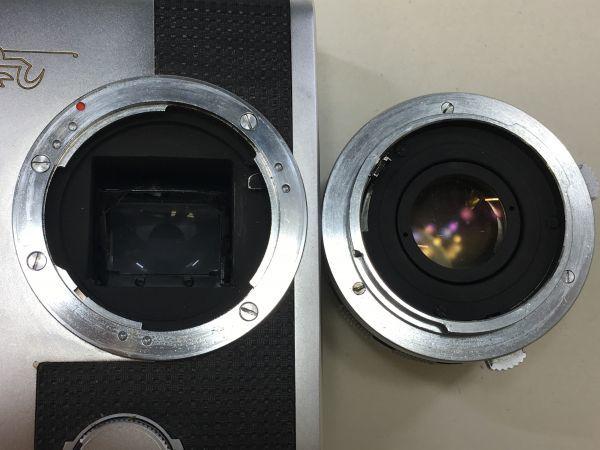 M501-3/MM3000 オリンパス OLYMPUS ペンF PEN F+レンズ2点! ☆ 1:1.8 F=38mm/ 1:3.5 F=50-90mm ★中古カメラ コンパクト一眼  _画像5