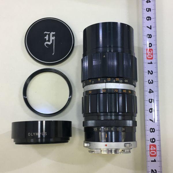 M501-3/MM3000 オリンパス OLYMPUS ペンF PEN F+レンズ2点! ☆ 1:1.8 F=38mm/ 1:3.5 F=50-90mm ★中古カメラ コンパクト一眼  _画像10