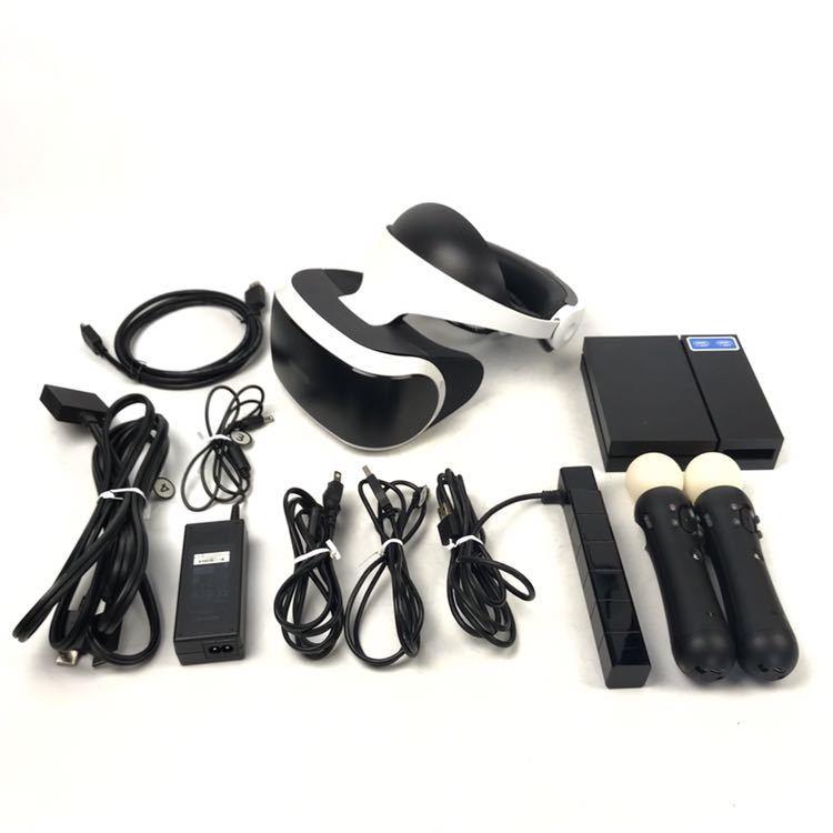 1円~SONY/ソニー CUH-ZVR1 PlayStation VR HEADSET PSVR 動作確認済 中古品 プレイステーション4 PS4 兵庫県姫路市発