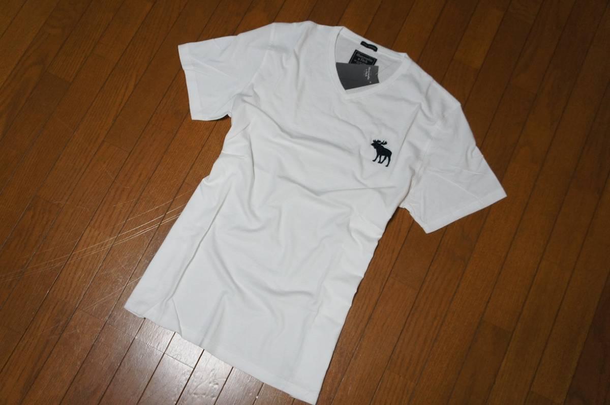 Mサイズ!アバクロ Abercrombie&Fitch半袖Tシャツ