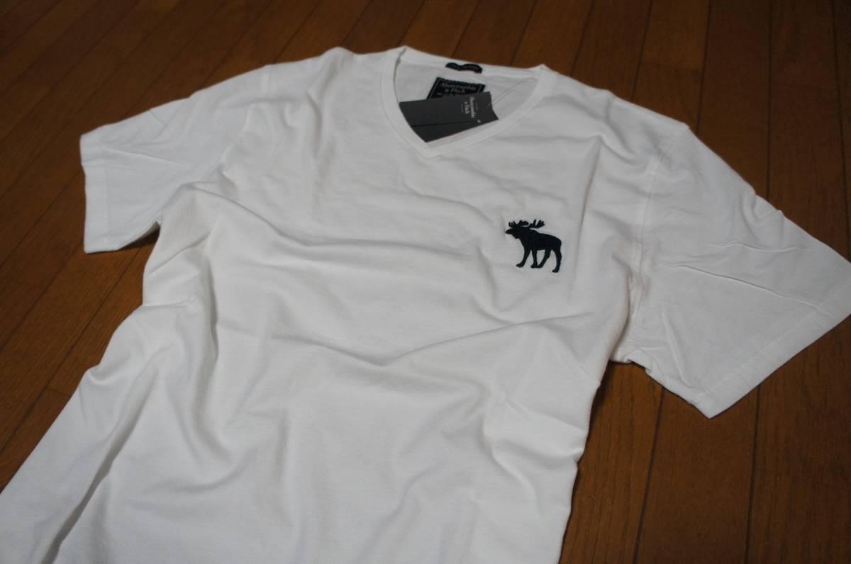 Mサイズ!アバクロ Abercrombie&Fitch半袖Tシャツ_画像2