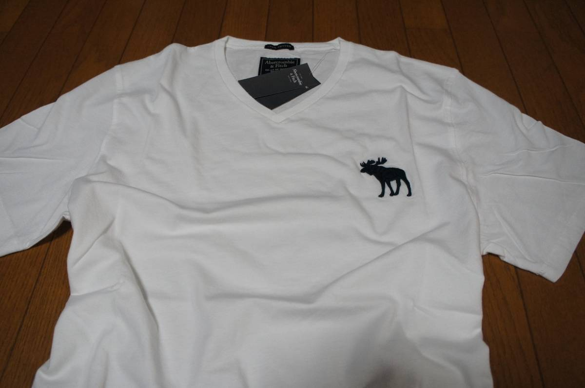 Mサイズ!アバクロ Abercrombie&Fitch半袖Tシャツ_画像4