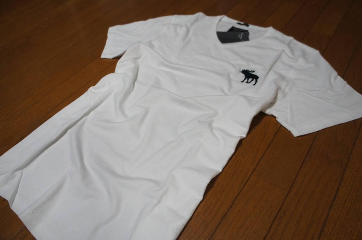 Mサイズ!アバクロ Abercrombie&Fitch半袖Tシャツ_画像5