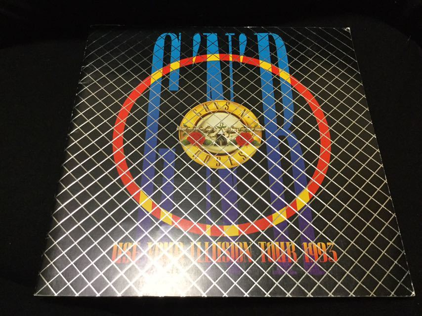 GUNS N' ROSES ガンズ アンド ローゼズ パンフレット パンフ 日本公演ツアー Axl Rose アクセルローズ Slash スラッシュ Duff Mckagen_画像1