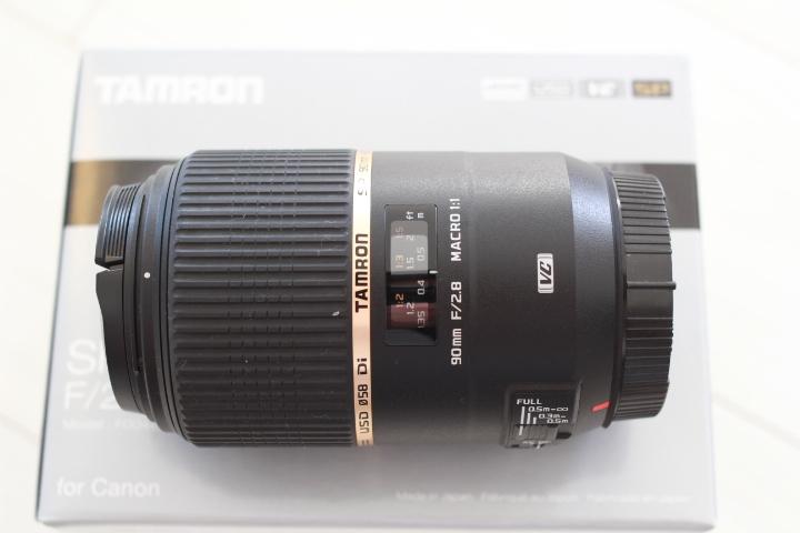超美品★激安 タムロン TAMRON SP 90mm F2.8 Di MACRO 1:1 VC USD キャノン用 _画像2