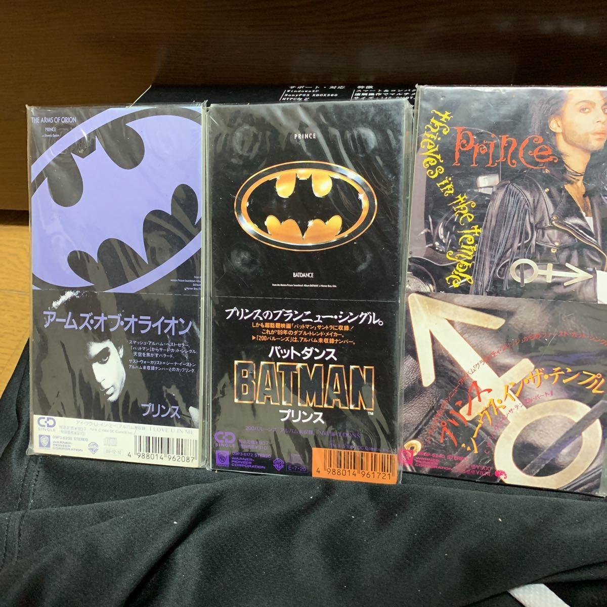 送料無料/国内盤/シングルCD/PRINCE/プリンス/BATDANCE/バットダンス/プラス2枚のシングルCD3枚セット
