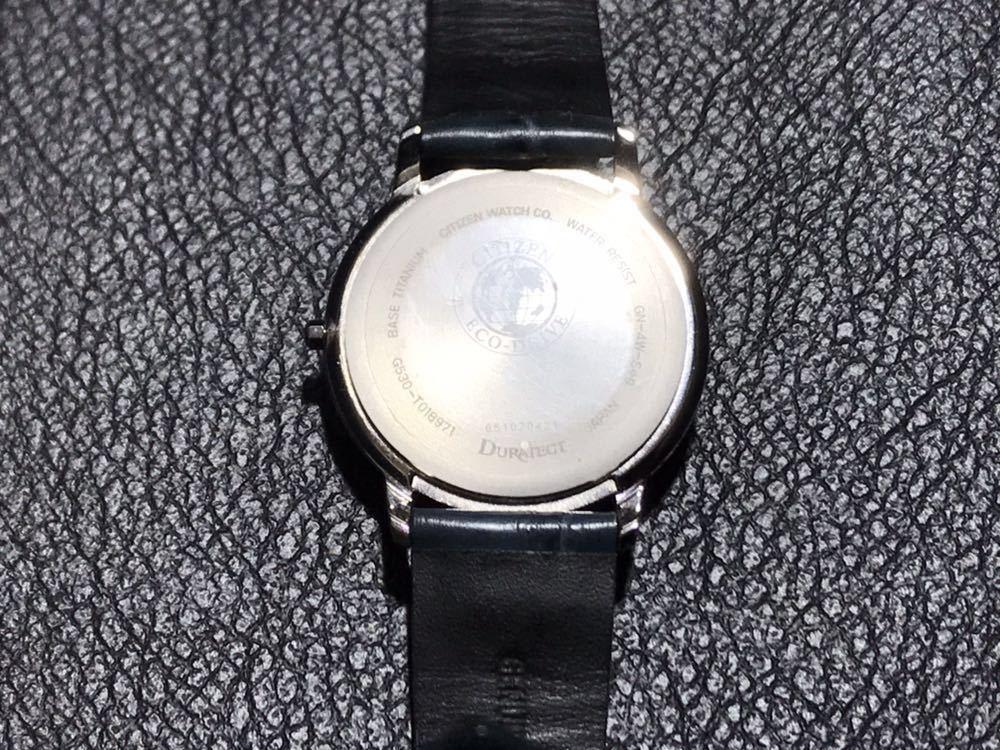 CITIZEN シチズン EXCEED エクシード エコドライブ ソーラー発電 メンズ腕時計 美品_画像8