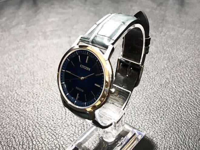 CITIZEN シチズン EXCEED エクシード エコドライブ ソーラー発電 メンズ腕時計 美品