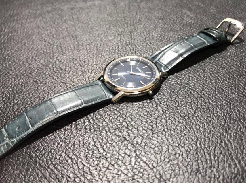 CITIZEN シチズン EXCEED エクシード エコドライブ ソーラー発電 メンズ腕時計 美品_画像7