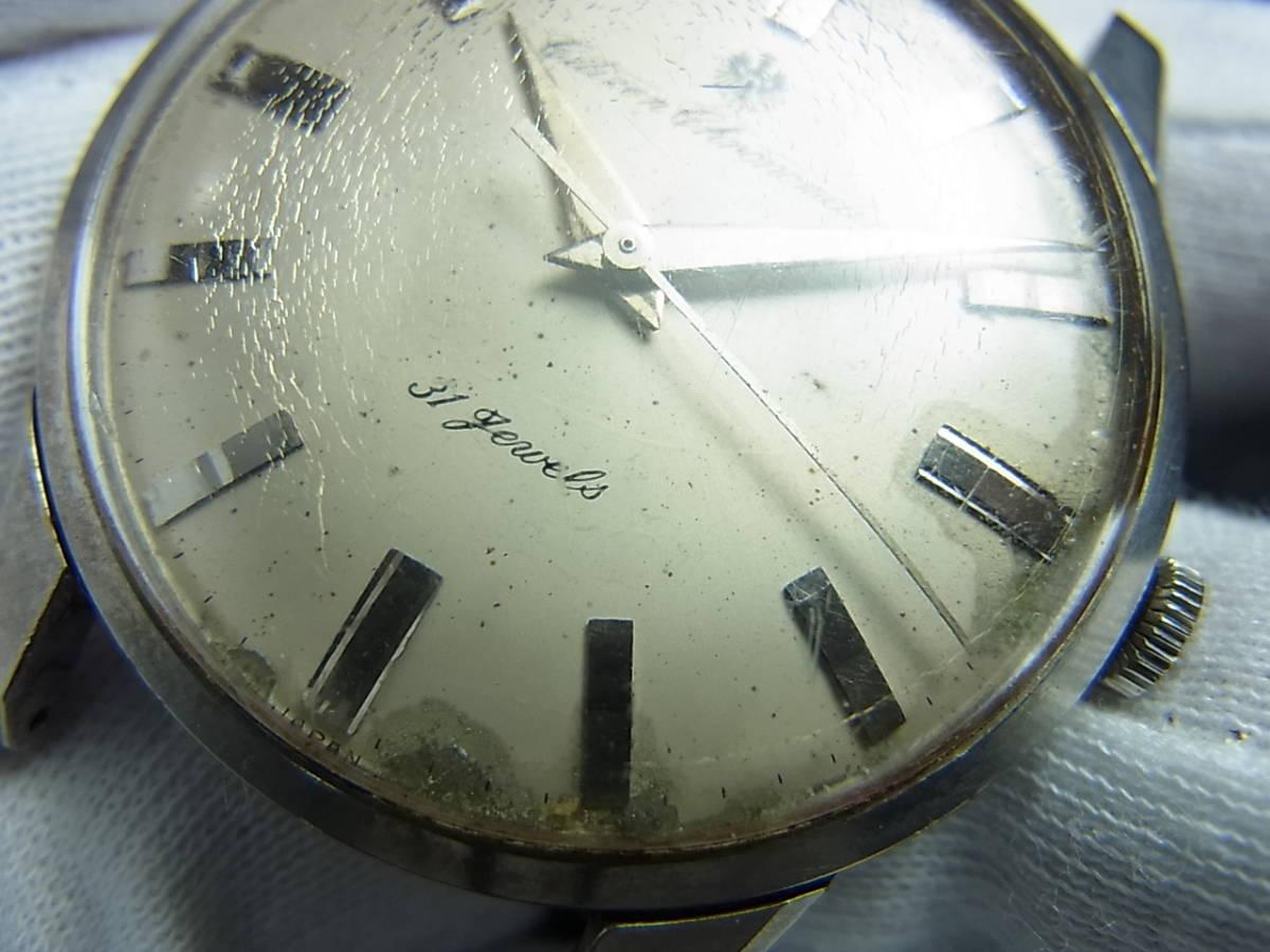 希少60年代★シチズンクロノメーターCR1507051ステンレスメダリオン手巻き式★_画像3
