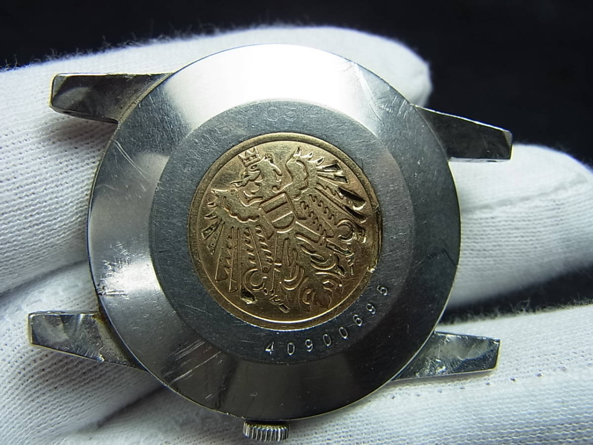 希少60年代★シチズンクロノメーターCR1507051ステンレスメダリオン手巻き式★_画像7