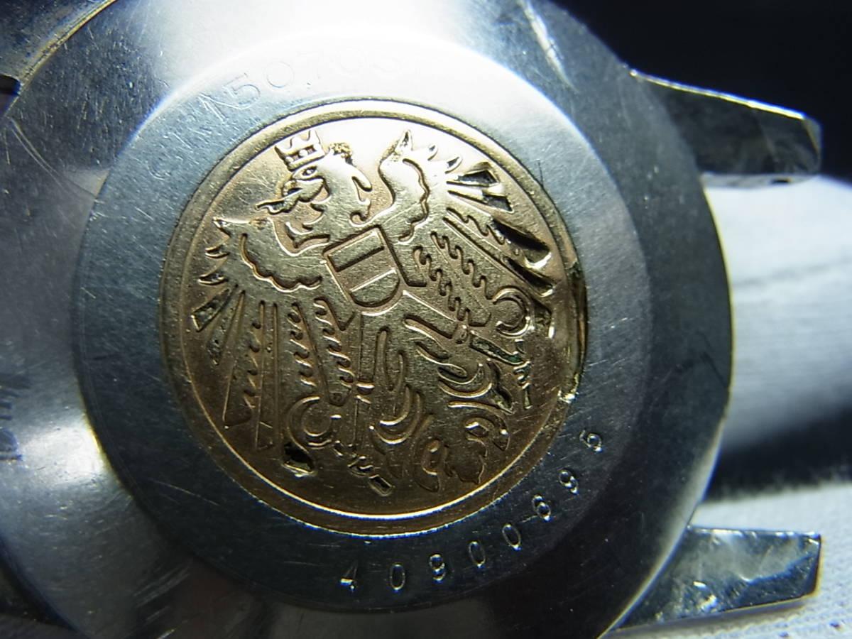 希少60年代★シチズンクロノメーターCR1507051ステンレスメダリオン手巻き式★_画像8