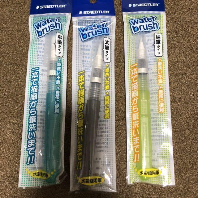 FABER-CASTELL ファーバーカステル アルブレヒトデューラー 水彩色鉛筆 120色 ウォーターブラシ ステッドラー スケッチブック セット_画像6
