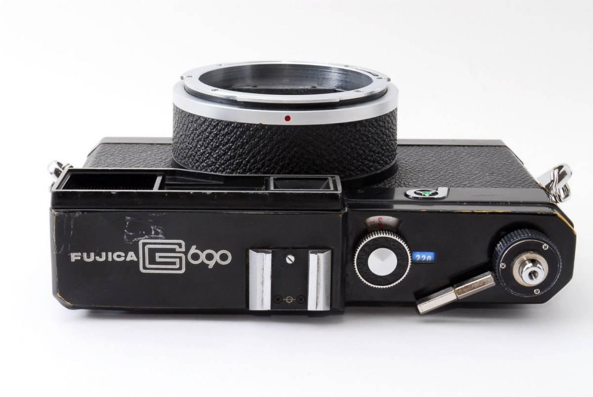 ジャンク Fujifilm G690 P Rangefinder Film Camera Body フジ フィルム カメラ レンジファインダー ボディ 中判 富士 290386_画像4