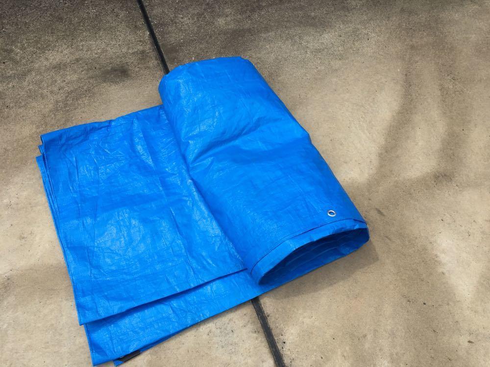 ブルーシート 5.4m×5.4m レジャーシート グランドシート キャンプ テント