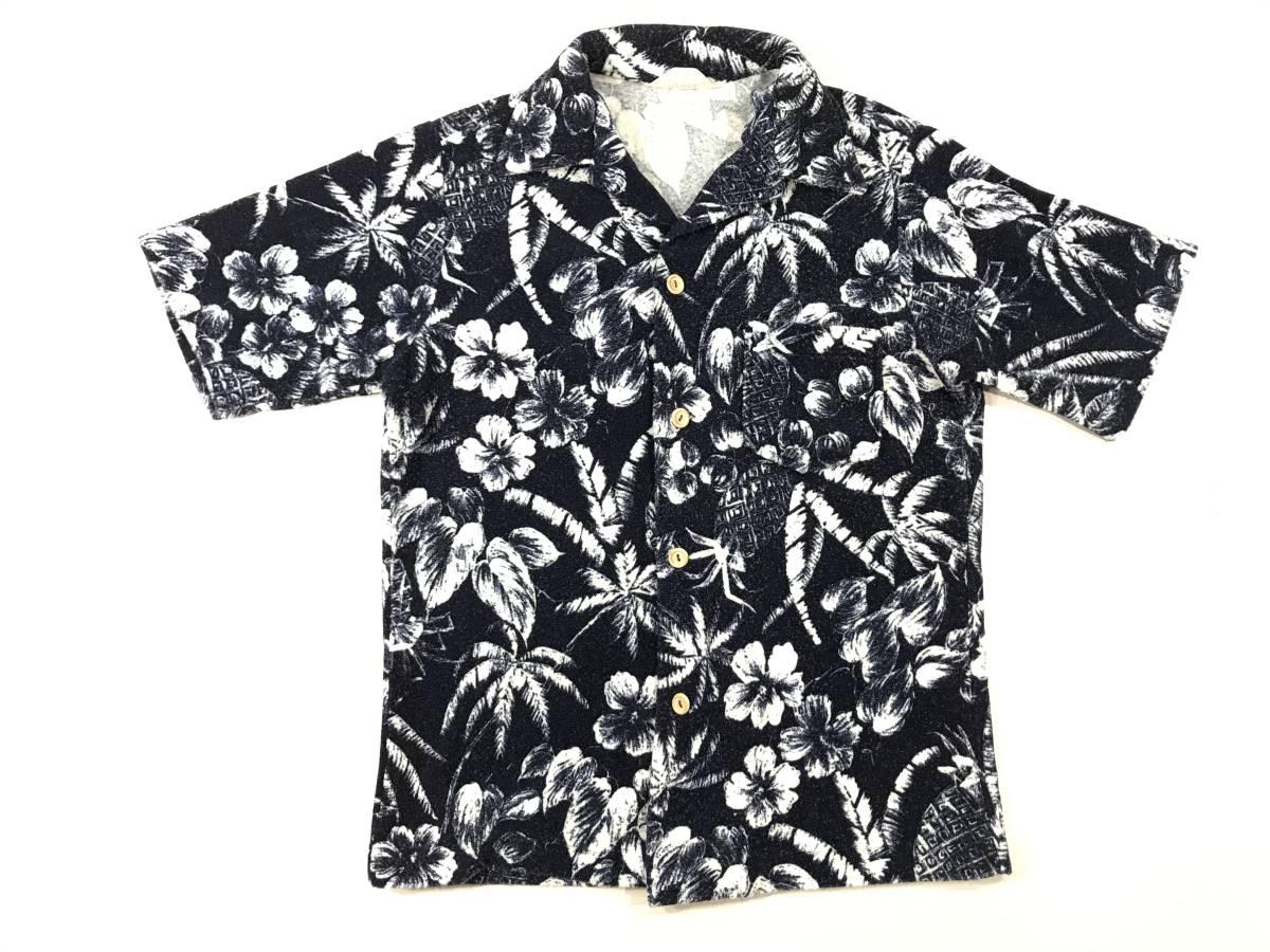 古着 15713 catalina Mサイズ 半袖 アロハ シャツ サーフィン サーフ ハワイアン hawaii 柄 アウトドア キャンプ ビンテージ _画像1