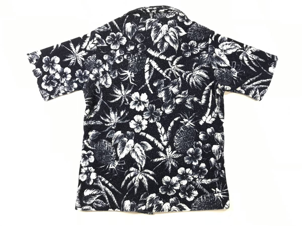 古着 15713 catalina Mサイズ 半袖 アロハ シャツ サーフィン サーフ ハワイアン hawaii 柄 アウトドア キャンプ ビンテージ _画像7