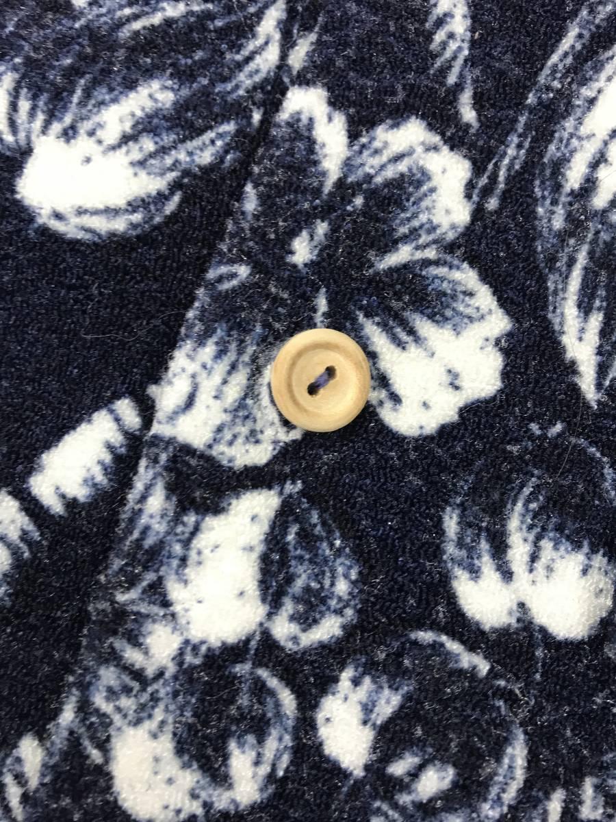 古着 15713 catalina Mサイズ 半袖 アロハ シャツ サーフィン サーフ ハワイアン hawaii 柄 アウトドア キャンプ ビンテージ _画像4