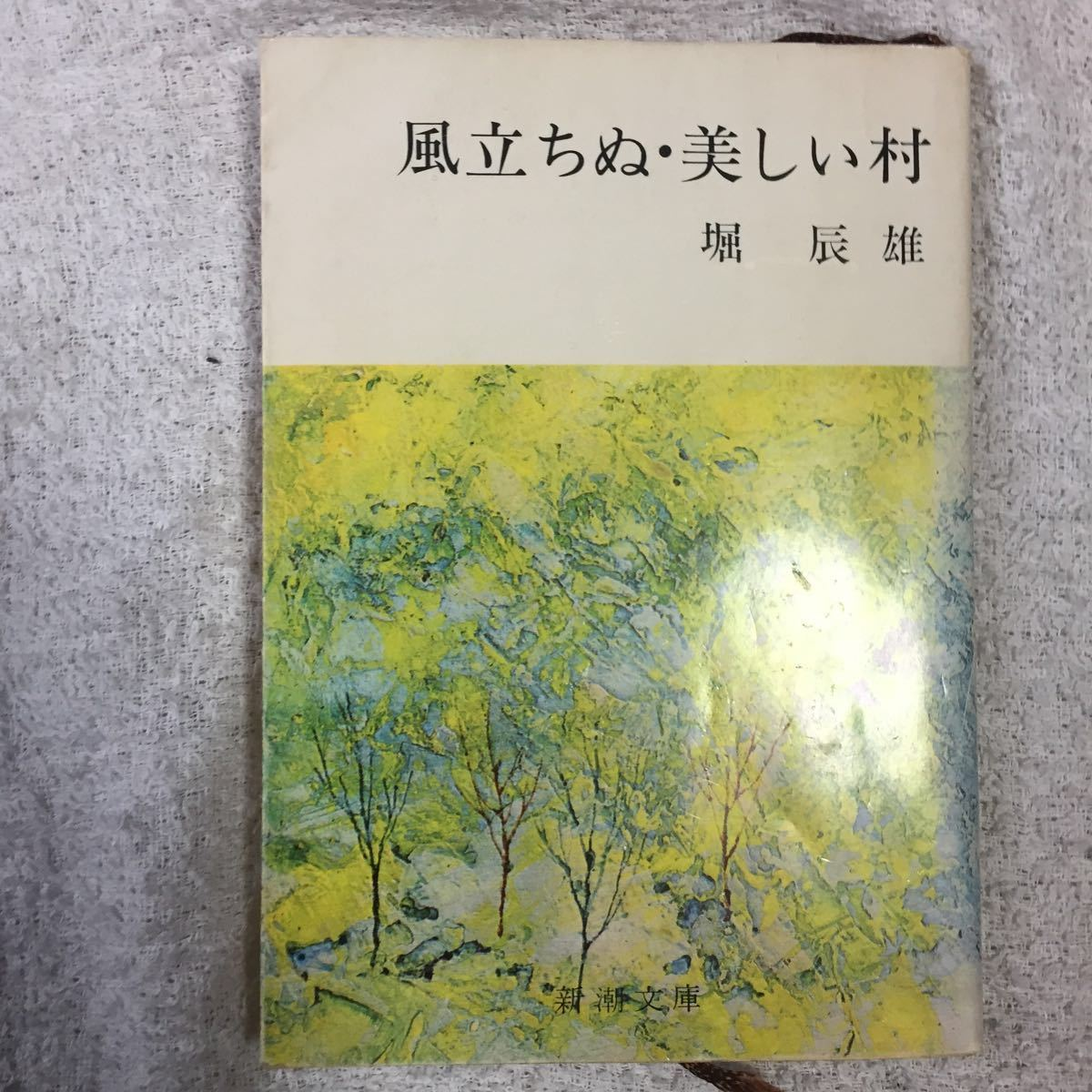 風立ちぬ・美しい村 (新潮文庫) 堀 辰雄_画像1