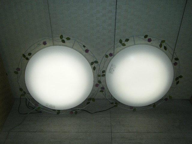 Aま65▲2台セット♪DAIKO ダイコー LEDシーリングライト DCL-39270 照明器具 2台=参考価格114,050円~6~8畳に対応 ロココ調 モダン _画像7