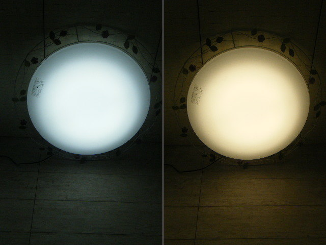 Aま65▲2台セット♪DAIKO ダイコー LEDシーリングライト DCL-39270 照明器具 2台=参考価格114,050円~6~8畳に対応 ロココ調 モダン _画像9