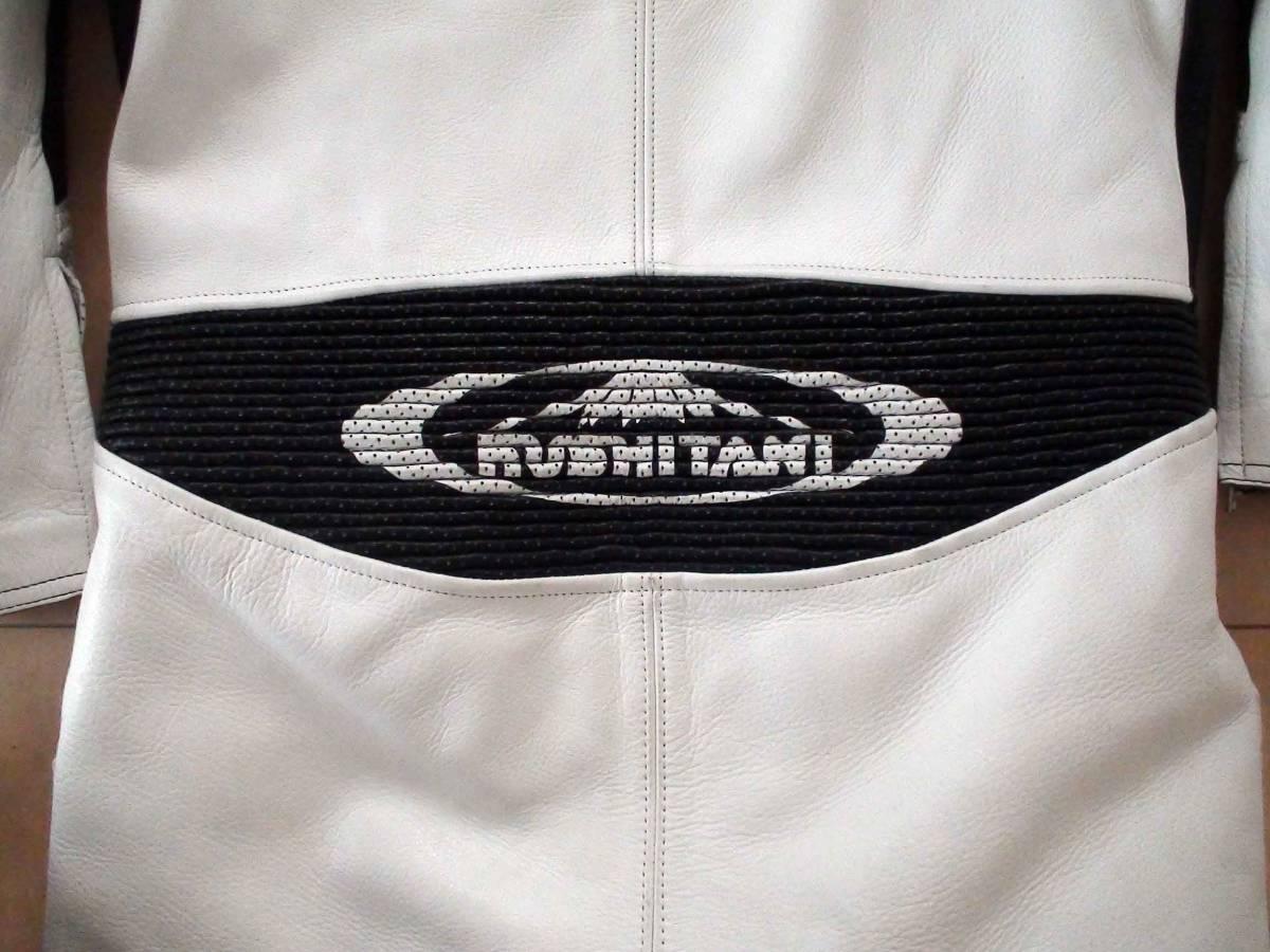 レーシングスーツ KUSHITANI クシタニ サイズLL/XL ホワイト/ブラック MFJ公認 K-0065XX GLIDE SUIT 一度のみ使用の美品_画像5
